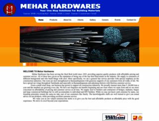 meharhardwares.com screenshot