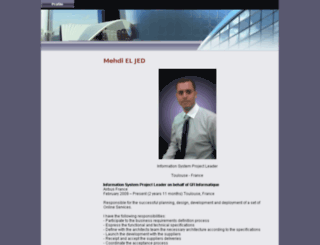 mehdi-eljed.com screenshot