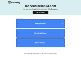 mehendisrilanka.com screenshot