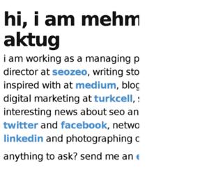 mehmetaktug.com.tr screenshot