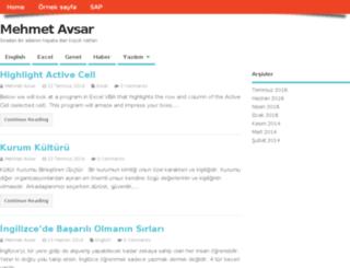 mehmetavsar.com screenshot