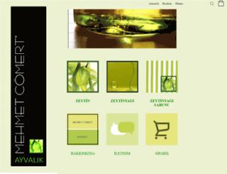 mehmetcomert.com.tr screenshot