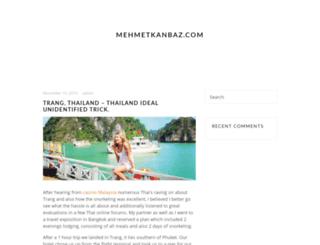 mehmetkanbaz.com screenshot