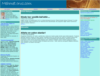 mehmetoruc.com screenshot