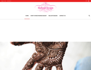 mehndi-design.co.in screenshot