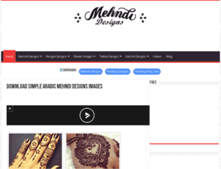 mehndi-designs.co screenshot