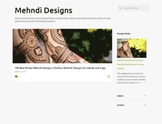mehndi-designs.in screenshot