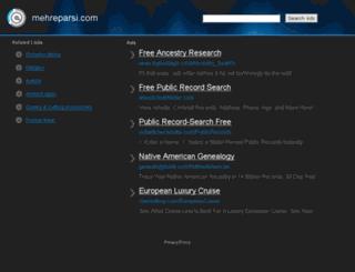 mehreparsi.com screenshot