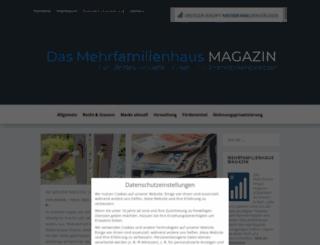 mehrfamilienhaus-magazin.de screenshot