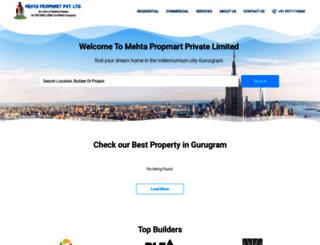 mehtapropmart.com screenshot