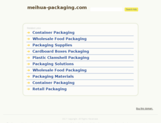 meihua-packaging.com screenshot