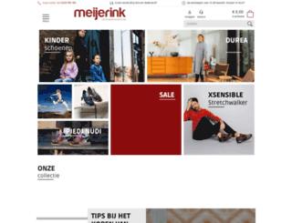 meijerink-schoenen.nl screenshot