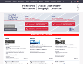meil.pw.edu.pl screenshot