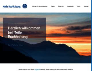 meile-buchhaltung.ch screenshot