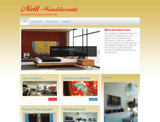 meili-wanddecoratie.com screenshot