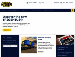 meiller.com screenshot