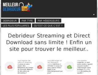 meilleur-debrideur.com screenshot