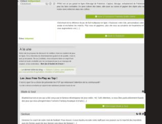 meilleurjeuenligne.fr screenshot