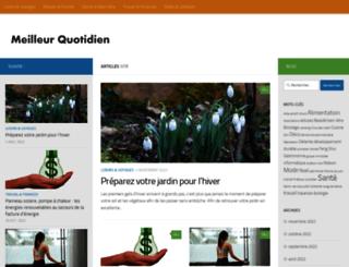 meilleurquotidien.com screenshot