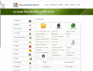 meilleurs-sites.fr screenshot