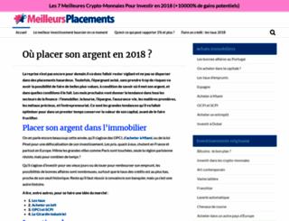 meilleursplacements2014.fr screenshot