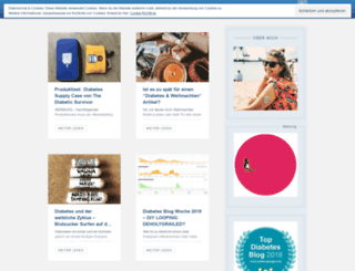 mein-diabetes-blog.com screenshot