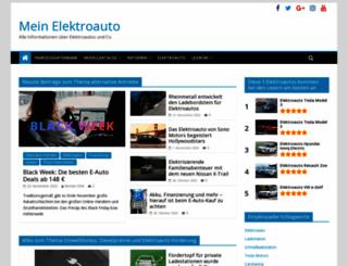 mein-elektroauto.com screenshot