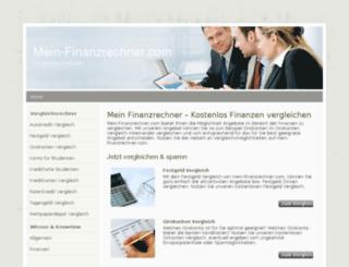mein-finanzrechner.com screenshot