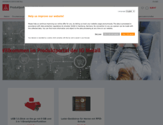 mein-igm-fanshop.de screenshot