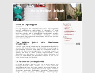 mein-italien-urlaub.de screenshot