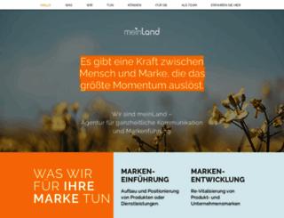 mein-land.com screenshot