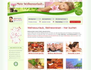 mein-wellnessurlaub.de screenshot