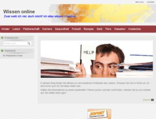 mein-wissen-online.de screenshot