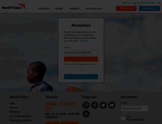 mein-worldvision.de screenshot