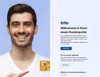 mein.free.at screenshot