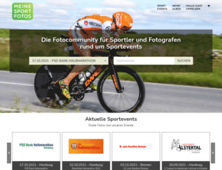 meine-sportfotos.de screenshot