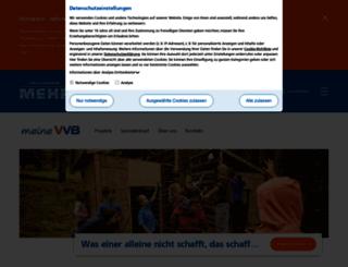 meine-vvb.viele-schaffen-mehr.de screenshot