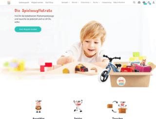 meinespielzeugkiste.de screenshot