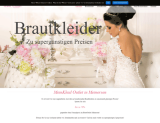 meinkleid.de screenshot