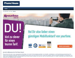 meinphonehouse.de screenshot