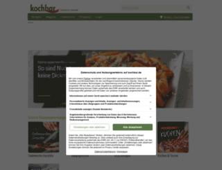 meinprospekt.kochbar.de screenshot