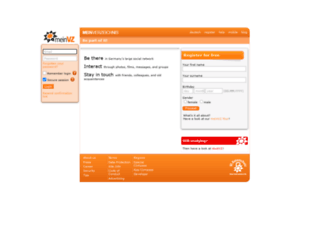 meinvz.net screenshot