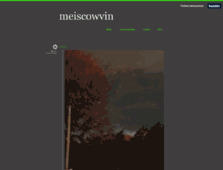 meiscowvin.tumblr.com screenshot