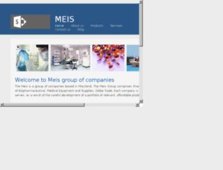 meisgroup.com screenshot