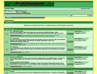 meistertrainerforum.de screenshot
