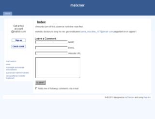 meixner.www.0v.ro screenshot