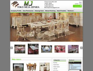 mejajepara.com screenshot