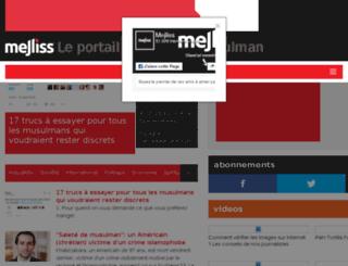 mejliss.com screenshot