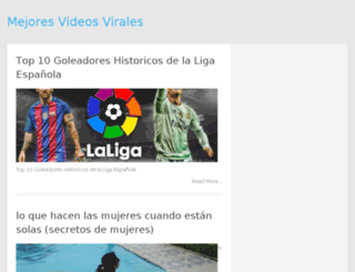 mejoresvideosvirales.com screenshot