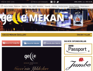 mekanoscarlari.gecce.com screenshot